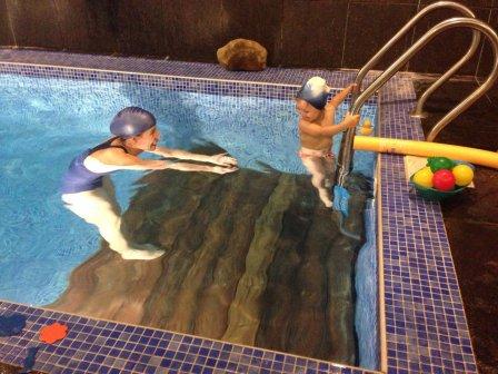 Занятие спортом для детей в Химках