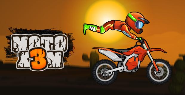 Трюки Moto X3M 2