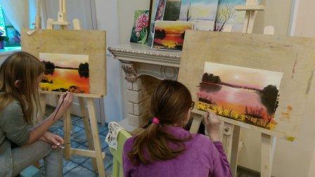 уроки живописи для детей в химках